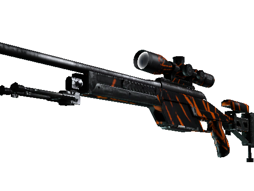 StatTrak™ SSG 08 | Slashed (Well-Worn)