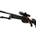 StatTrak™ SSG 08 | Slashed <br>(Well-Worn)