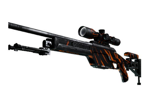Buy StatTrak™ SSG 08 | Slashed (Well-Worn)