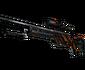 StatTrak™ SSG 08 | Slashed (Well-Worn)