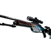 StatTrak™ SSG 08 | Blood in the Water (Minimal Wear)