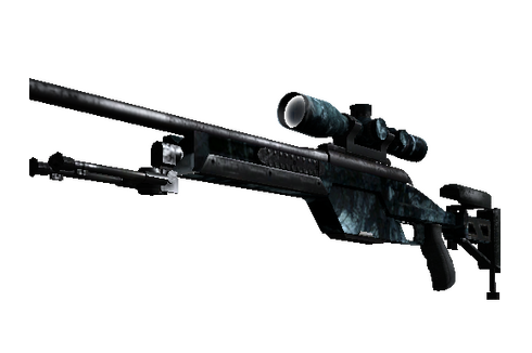 Buy StatTrak™ SSG 08 | Abyss (Battle-Scarred)