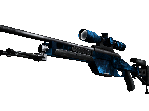 StatTrak™ SSG 08 | Abyss (Battle-Scarred)