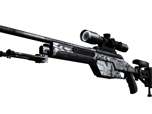 SSG 08 | Dark Water Minimal Wear