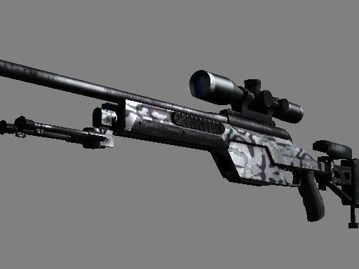 StatTrak™ SSG 08 | Dark Water
