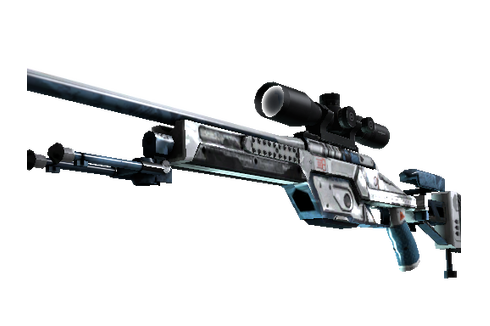 Buy StatTrak™ SSG 08 | Ghost Crusader (Well-Worn)