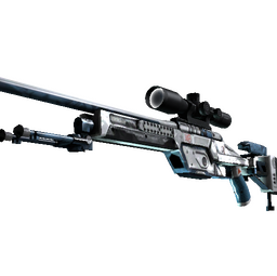 StatTrak™ SSG 08 | Ghost Crusader (Well-Worn)