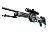 StatTrak™ SSG 08 | Ghost Crusader (Battle-Scarred)