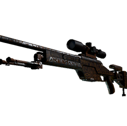 SSG 08 | Orange Filigree (Factory New)