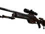 Skin SSG 08 | Orange Filigree