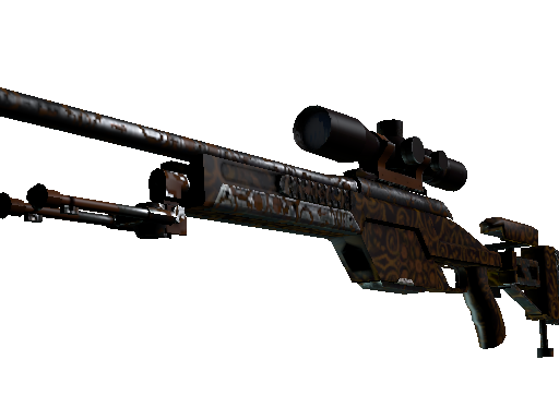 SSG 08 | Orange Filigree (Battle-Scarred)