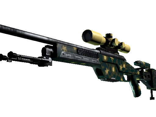 SSG 08 | Sea Calico (Battle-Scarred)