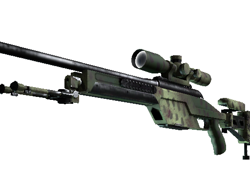 SSG 08 | Lichen Dashed (Factory New)