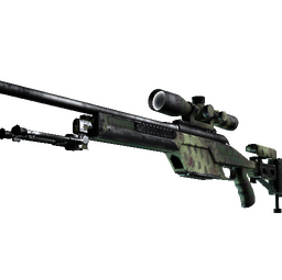 SSG 08 | Lichen Dashed (Well-Worn)