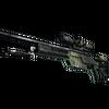 SSG 08 | Lichen Dashed <br>(Well-Worn)