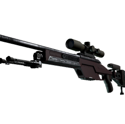 SSG 08 | Red Stone (Minimal Wear)