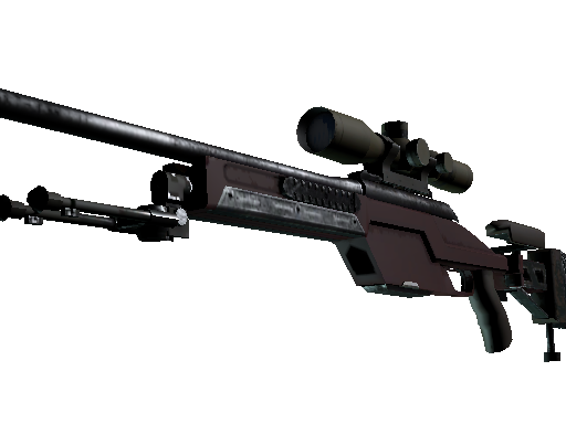 SSG 08 | Red Stone (Battle-Scarred)