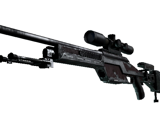 SSG 08 | Red Stone Battle-Scarred