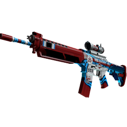 Souvenir SG 553 | Integrale (Factory New)