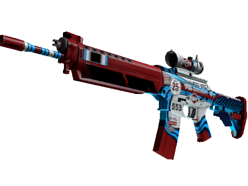 SG 553 | Integrale Factory New