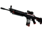SG 553 | Cyrex (Battle-Scarred)