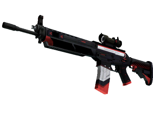 StatTrak™ SG 553 | Cyrex (Battle-Scarred)