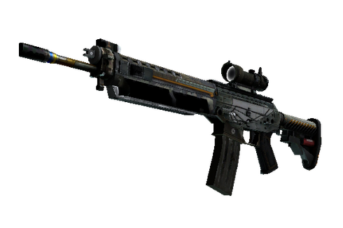 Buy SG 553 | Aerial (Battle-Scarred)