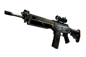 Stattrak Trade Sg 553 Aerial Field Tested