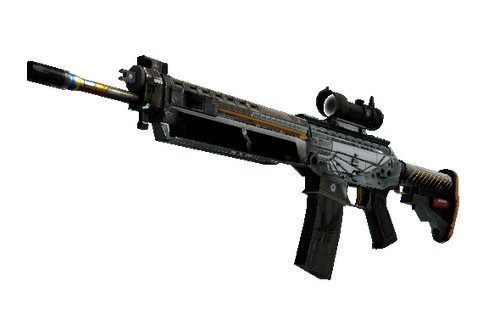 SG 553 | Aerial (Well-Worn) Prices