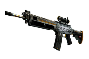 Stattrak Trade Sg 553 Aerial Factory New
