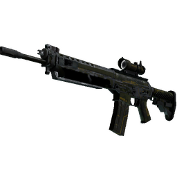 StatTrak™ SG 553 | Atlas (Battle-Scarred)