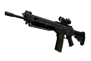Stattrak Trade Sg 553 Atlas Battle Scarred