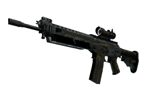 Buy SG 553 | Atlas (Battle-Scarred)
