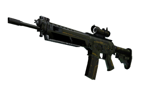 Buy SG 553 | Atlas (Well-Worn)