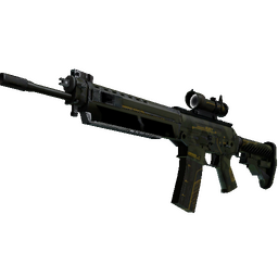 StatTrak™ SG 553 | Atlas (Well-Worn)