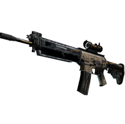 StatTrak™ SG 553 | Triarch (Battle-Scarred)