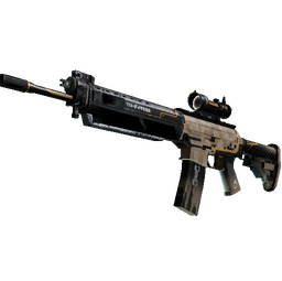 StatTrak™ SG 553 | Triarch (Field-Tested)