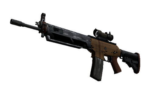 SG 553 | Traveler (Well-Worn) Prices