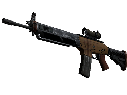 SG 553 | Traveler (Battle-Scarred)