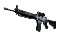 SG 553   Damascus Steel (Field-Tested)