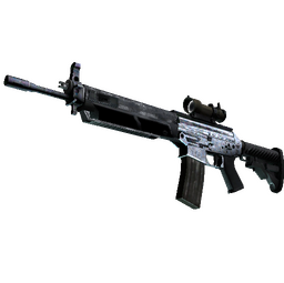 Souvenir SG 553 | Damascus Steel (Factory New)