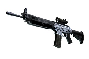 Sg 553 Damascus Steel Factory New