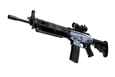 Souvenir SG 553 | Damascus Steel (Minimal Wear) Prices
