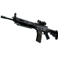 SG 553 | Damascus Steel <br>(Battle-Scarred)