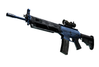 SG 553   Anodized Navy (Factory New)