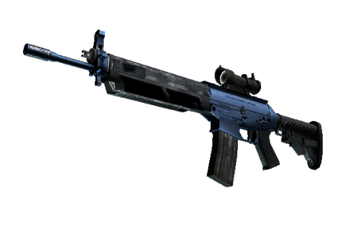 SG 553 | Anodized Navy (Minimal Wear) Prices