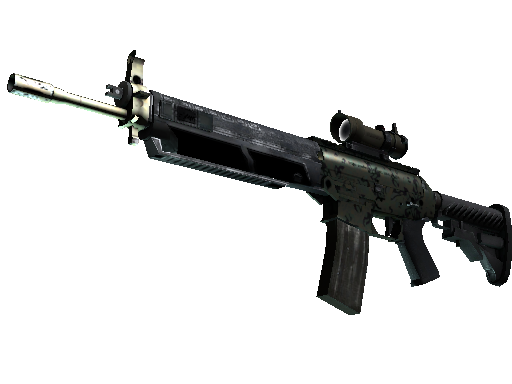 SG 553 | Army Sheen Factory New