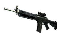 SG 553   Army Sheen (Factory New)