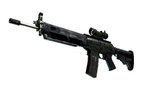 SG 553   Army Sheen (Field-Tested)