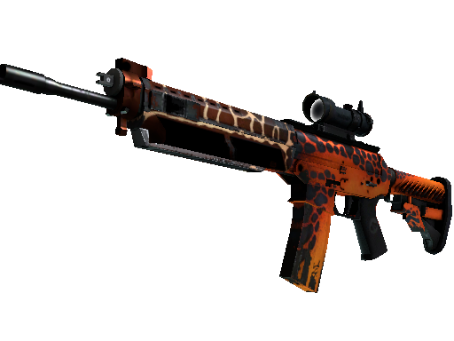 SG 553 | Tiger Moth Well-Worn